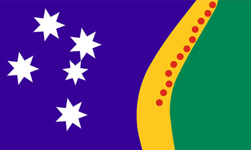 New flag for Australia